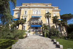 Old Building Opatija Stock Photo