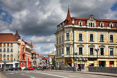 Old building in Oradea. Romania.  Stock Photo