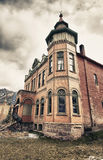 Old building in Ouray city, Colorado Royalty Free Stock Photo