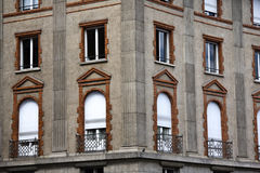Old building in Paris stock photos