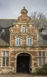 Old building of the Park abbey near Leuven Royalty Free Stock Images