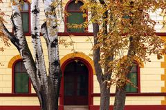 Old building in park Royalty Free Stock Photography
