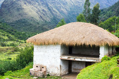 Old Building in Peru Royalty Free Stock Photo