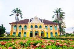 Old building. Phraya Abhaibhubate building, old building at Prachinburi province, Thailand Stock Photo