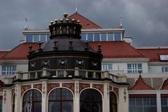 The old building. In Poland Royalty Free Stock Images