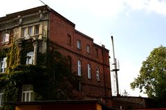The old building. In Poland Royalty Free Stock Photo