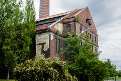 Old building power plants. Historic building power plants. Country: Poland. City: Bytom Stock Images