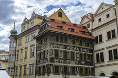 Old building in Prague Royalty Free Stock Photography