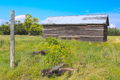 Old Building on the Prairies Royalty Free Stock Photos