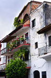 Old building in Puerto Vallarta, Mexico Royalty Free Stock Photos