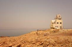 Red Sea in Jordan old building stock photos