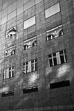 Old building reflction Stock Photo