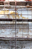 Old building renovation stock images
