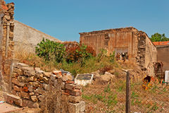Old building ruins. Ruines of an old building in Sardinia Stock Photos