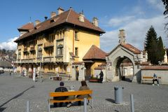 Free Old Building Schei District Of Brasov Royalty Free Stock Photo - 53532365