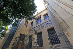 Old building of school of commerce, built in the early twentieth Royalty Free Stock Photos