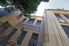 Old building of school of commerce, built in the early twentieth Stock Photo
