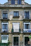 Old building in Seville, Spain. Old, run down building in Seville, Spain stock photo