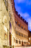 Old Building In Siena, Tuscany, Italy Royalty Free Stock Photos