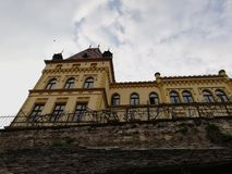 Old building in Sighisoara royalty free stock photography