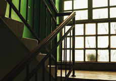 Old Building Stairways And Window Royalty Free Stock Photos