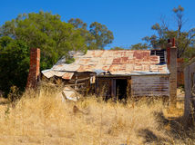 Old building in state if disrepair Royalty Free Stock Photo