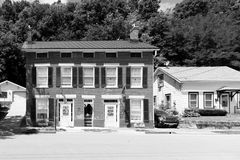 Old building on a street of Galena, Illinois Royalty Free Stock Photos