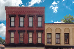 Old building on a street of Galena, Illinois Royalty Free Stock Photo