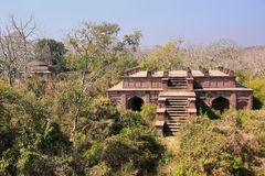 Old building surrounded by trees, Ranthambore Fort, India Stock Image