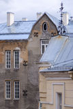 Old building in Tallin (with weather vane) Royalty Free Stock Image