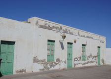 Old building in Teguise, Lanzarote Stock Photography