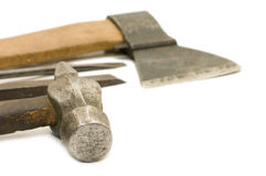 Old building tool Stock Photos