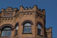 Old Building Top Stock Images