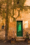 Old building in Trastevere in Rome, Italy Royalty Free Stock Images