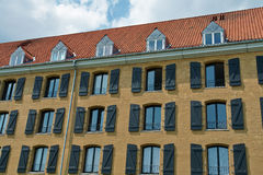 An old building turned into  hotel Copenhagen Denmark Royalty Free Stock Photography
