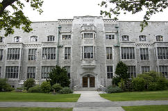 Old building in University of British Columbia Campus Vancouver Stock Photography