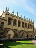 Old building of university of oxford,england Royalty Free Stock Photo