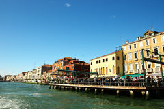 Old building in Venice, Italy Royalty Free Stock Photos