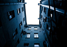 Old Building view to Sky Royalty Free Stock Image