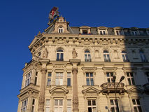 Old building in Warsaw Royalty Free Stock Images