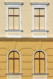 Old building with windows Stock Image