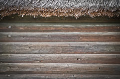 Old building wooden wall Royalty Free Stock Image