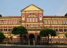 Old building in Yangon Stock Photography