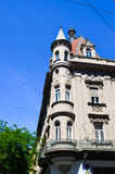 Old building in Zagreb, Croatia. Royalty Free Stock Images