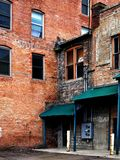 Old Buildings Abandoned Gritty Urban Stock Images