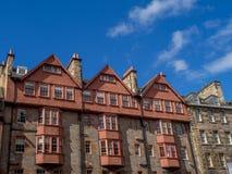 Old buildings along the Royal Mile, Edinbugh Royalty Free Stock Image