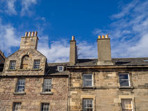 Old buildings along the Royal Mile, Edinbugh Royalty Free Stock Photography