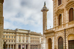 old buildings along the streets of Rome Royalty Free Stock Image