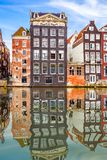 Old buildings in Amsterdam Stock Photos