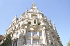 Old buildings of Antwerp, Belgium Royalty Free Stock Photo
